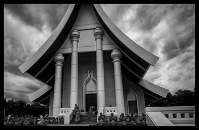 Thailand Buddhist Prayers 5 Original by David Longstreath
