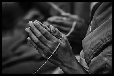 Thailand Buddhist Prayers 6 Original by David Longstreath