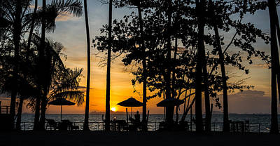 Thailand Sunset Print by Mike Lee