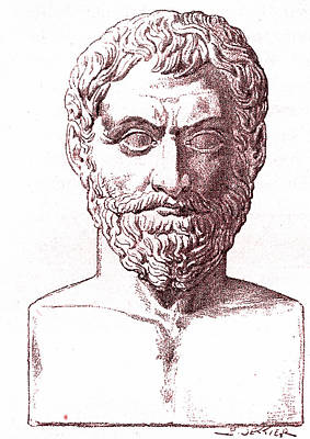 7th Century Photograph - Thales by Collection Abecasis