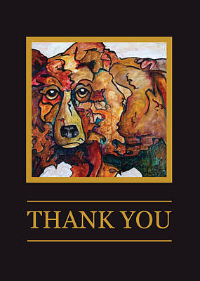 Thank You II Print by Financial Greeting Cards