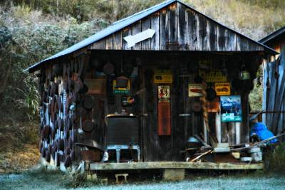 Old Cabins Photograph - That Old Shack by Dan Sproul