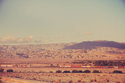Palm Desert Photograph - That Side Of The Tracks by Laurie Search