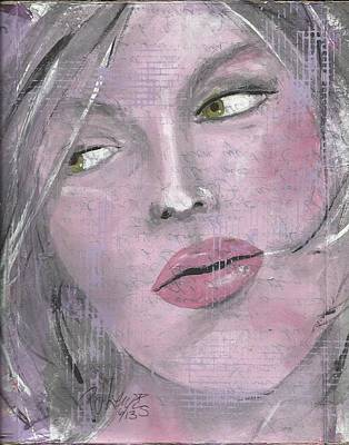 Abuse Painting - That's All She Wrote. by P J Lewis