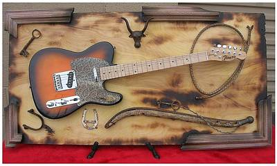 Esp Guitars Mixed Media - That's The Way by John Hoyt