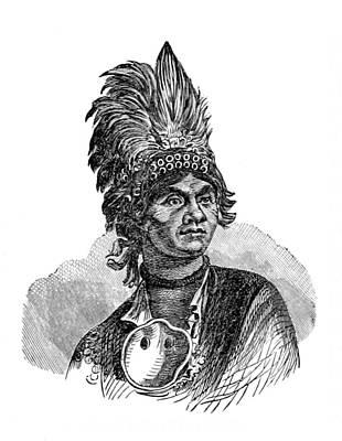 Thayendanegea, Joseph Brant, Mohawk Print by British Library