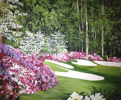 The 13th Hole Augusta National Original by Robbie Bellamy