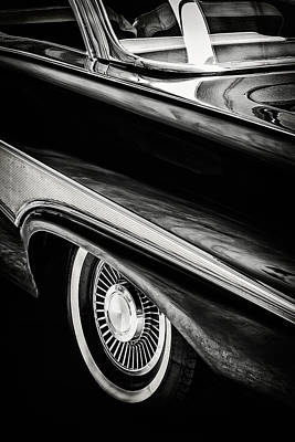 The 1958 Ford Fairlane Print by Martin Bergsma