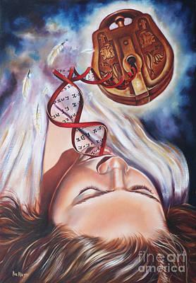 Painting - The 7 Spirits - The Spirit Of Wisdom by Ilse Kleyn