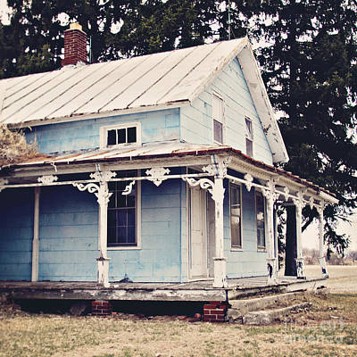 Michigan Farmhouse Photograph - The Abandoned Dollhouse by Bethany Helzer
