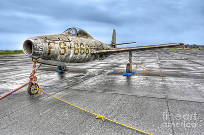 Abandoned Air Plane Photograph - The Abandoned Warrior by Lee Dos Santos