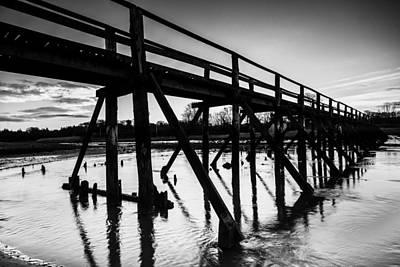 The Aberlady Bridge Print by Keith Thorburn LRPS