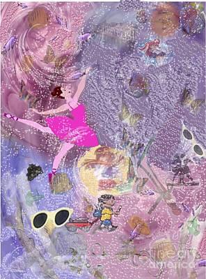 The  Abyss Print by Brigitte C Robinson