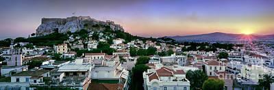 Acropolis Photograph - Athens by Rod McLean