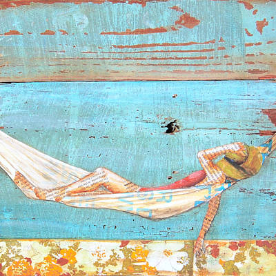 Relaxation Mixed Media - The Activity Of Soul Resting by Danny Phillips
