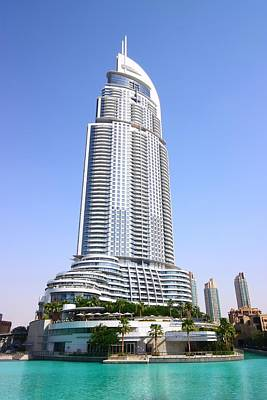 Middle East Photograph - The Address Downtown Dubai by FireFlux Studios