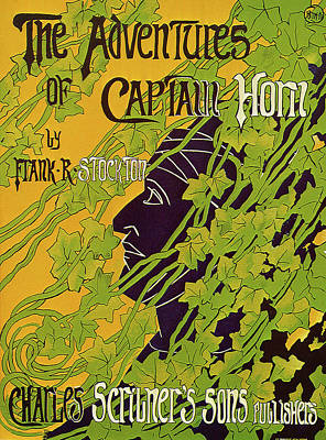 The Adventures Of Captain Horn 1895 Print by BLANCHE McMANUS