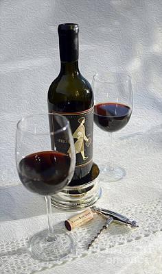 Wine Vineyard Mixed Media - The Advocate Painting by Jon Neidert