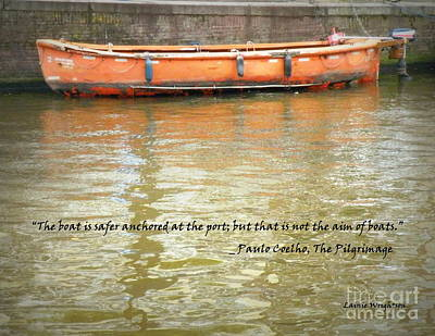 The Aim Of Boats Print by Lainie Wrightson