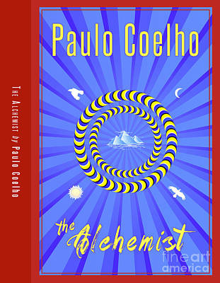 The Alchemist Book Cover Poster Art 1 Print by Nishanth Gopinathan