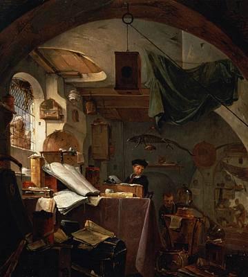 Cage Photograph - The Alchemist Oil by Thomas Wyck