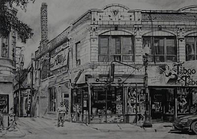 The Alley Print by Patricio Lazen