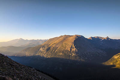 Heaven Photograph - The Alpine Tundra Of The Rockies In The Morning Light by Ellie Teramoto