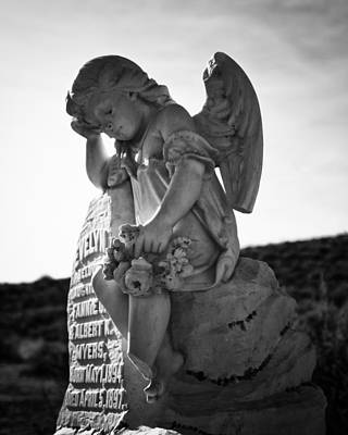 The Angel Of Bodie Print by Troy Montemayor