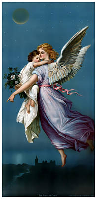 The Angel Of Peace Print by Terry Reynoldson