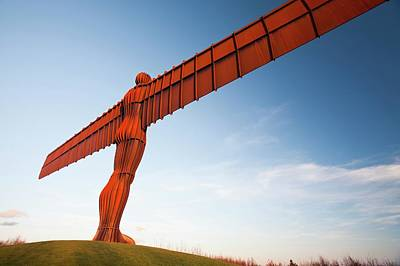 Of Artist Photograph - The Angel Of The North Sculpture by Ashley Cooper
