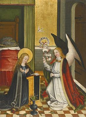 Jesus Painting - The Annunciation by Celestial Images