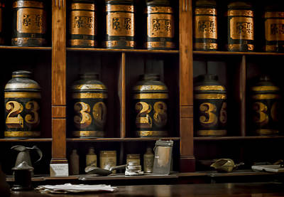 The Apothecary Print by Heather Applegate