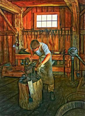 Rural Digital Art - The Apprentice 2 - Paint by Steve Harrington