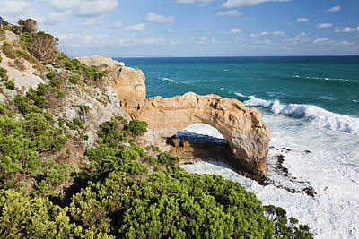 Great Ocean Road Photograph - The Arch, Great Ocean Road, Australia by Martin Zwick