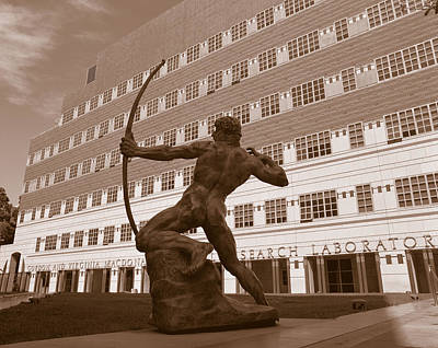 The Archer, University Of California Print by Panoramic Images