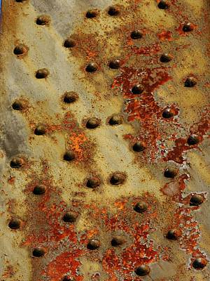 The Arid Plains Of Rust Print by Charles Lucas