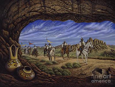 The Arrival Print by Ricardo Chavez-Mendez