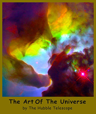 The Art Of The Universe 266 Print by The Hubble Telescope