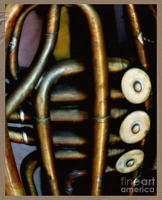 Music Digital Art - The Art Of Tuba by Steven  Digman