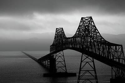 Seascape Photograph - The Astoria Bridge by David Patterson