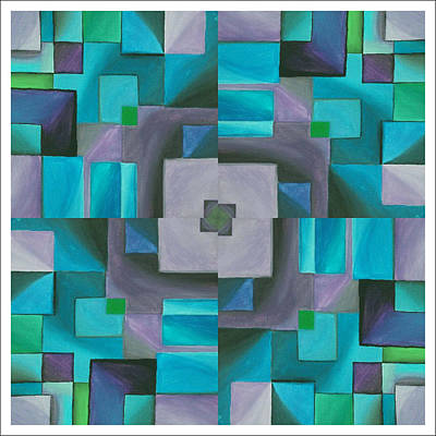 Autism Painting - The August Rose by D August