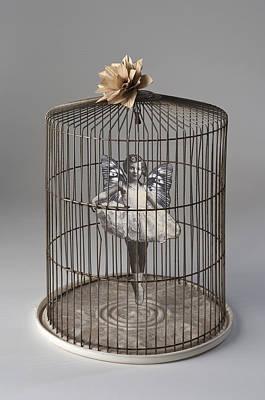 Sculpture - The Awkward Dance by Susan McCarrell