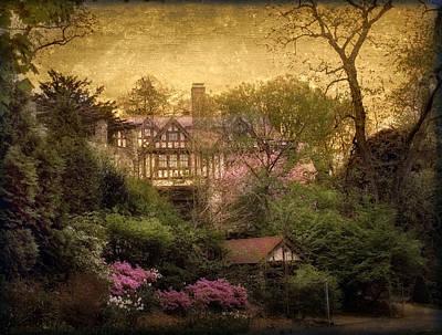 House Digital Art - The Azalea Garden by Jessica Jenney
