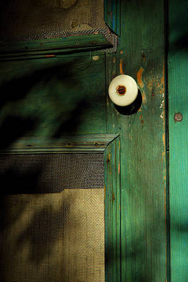 The Back Door Print by Michael Eingle