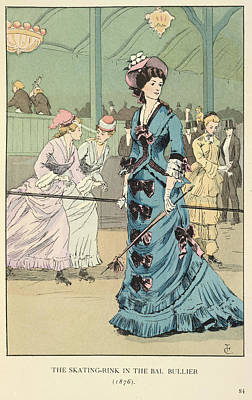 Adornment Photograph - The Bal Bullier by British Library