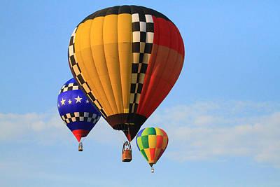 Louisiana Digital Art - The Balloons by Susie Hoffpauir