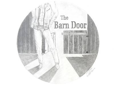 The Barn Door Logo Rendering Print by PJ Jackson