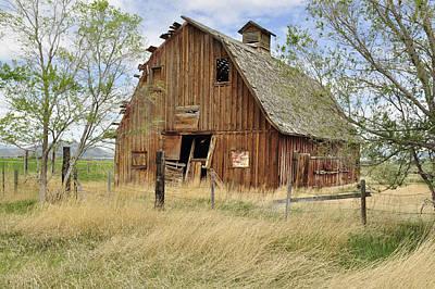 Daysray Photograph - the Barn  by Fran Riley