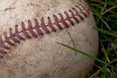 The Baseball Print by David Patterson