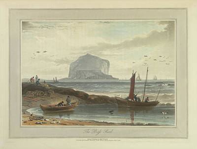 Landscape Of The Year Photograph - The Bass Rock by British Library